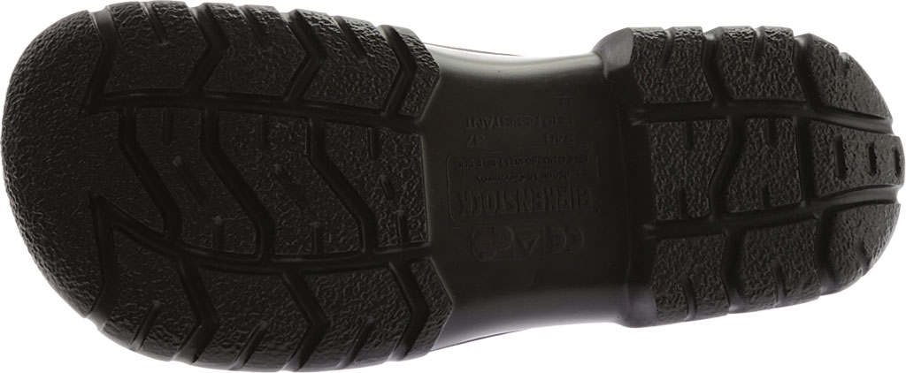 Birkenstock A 640 Steel Toe Slip On Shoe, Black Polyurethane, large, image 6