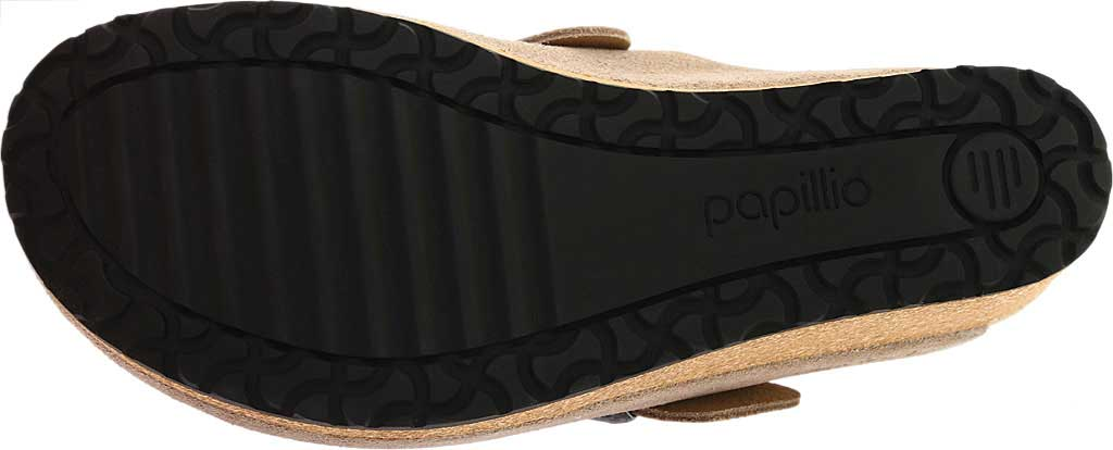 Women's Birkenstock Fanny Wedge Clog, Taupe Suede, large, image 6