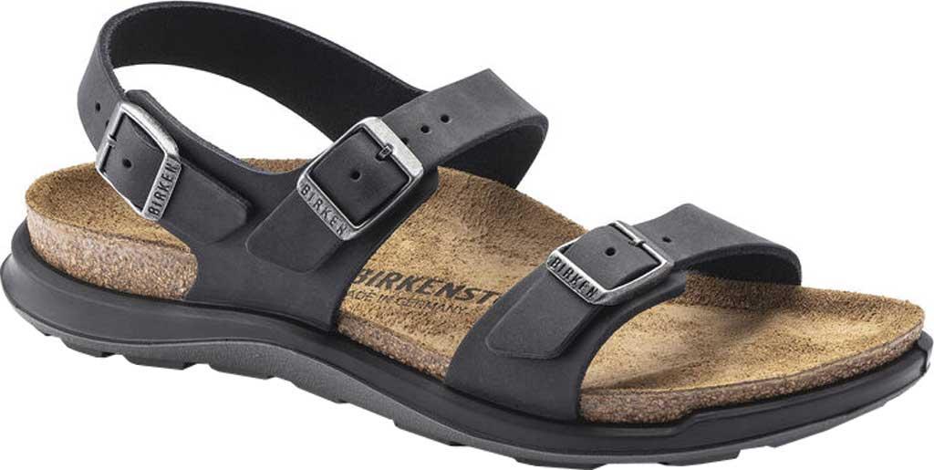 Women's Birkenstock Sonora CT Slingback Sandal, Black Oiled Nubuck Leather, large, image 1