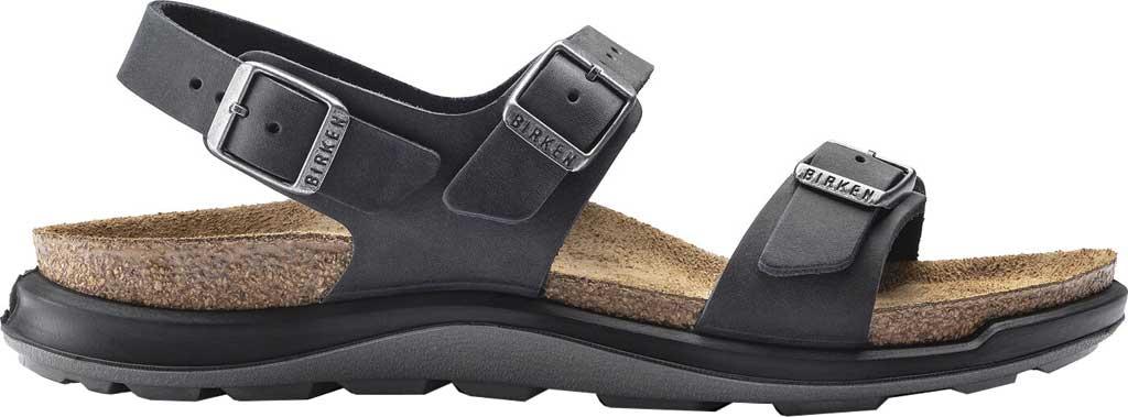 Women's Birkenstock Sonora CT Slingback Sandal, Black Oiled Nubuck Leather, large, image 2