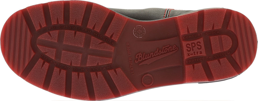 Blundstone Super 550 Series Boot, Black/Red Gore/Red Sole, large, image 6