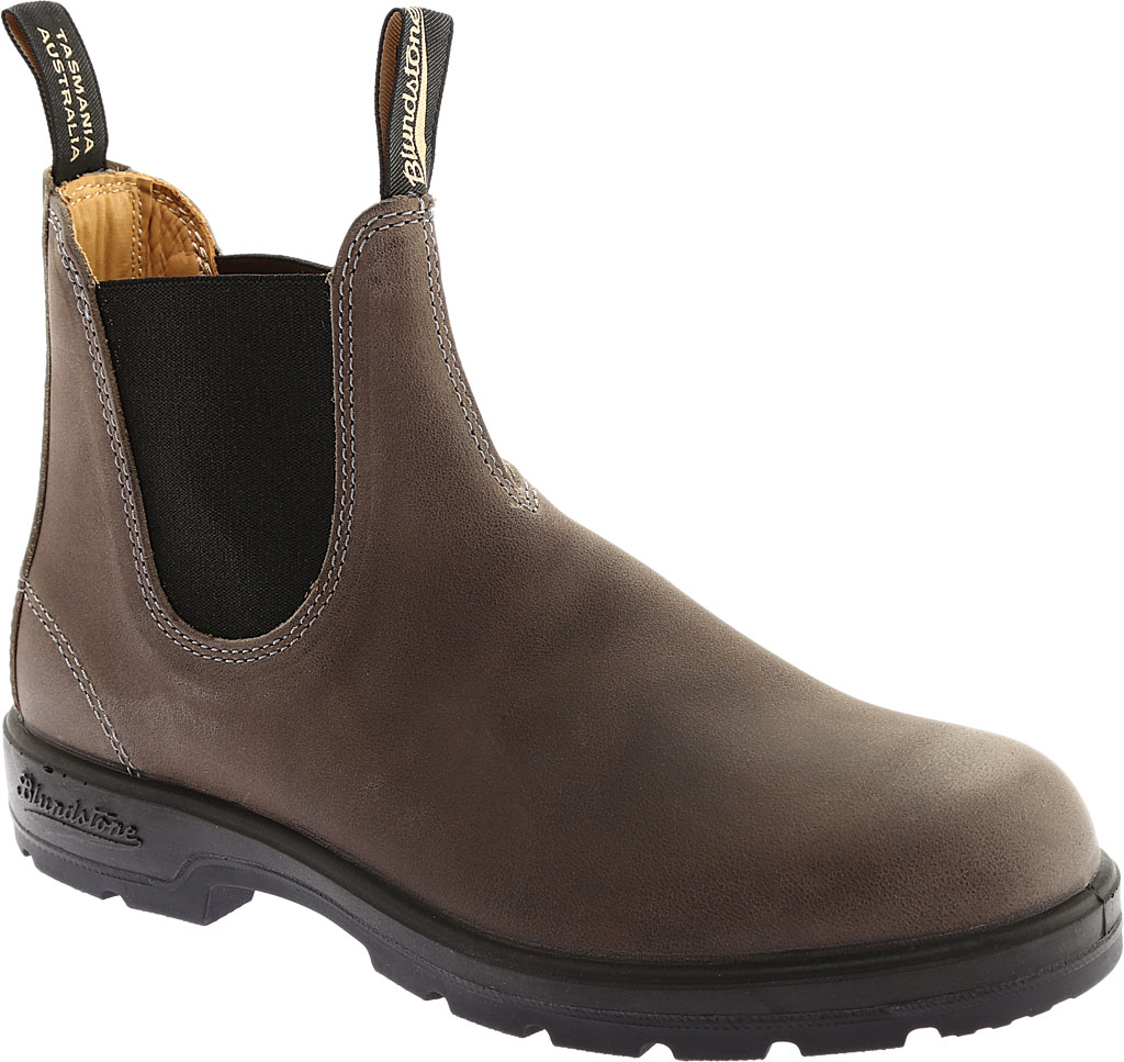 Blundstone Super 550 Series Boot, Steel Grey Leather, large, image 1