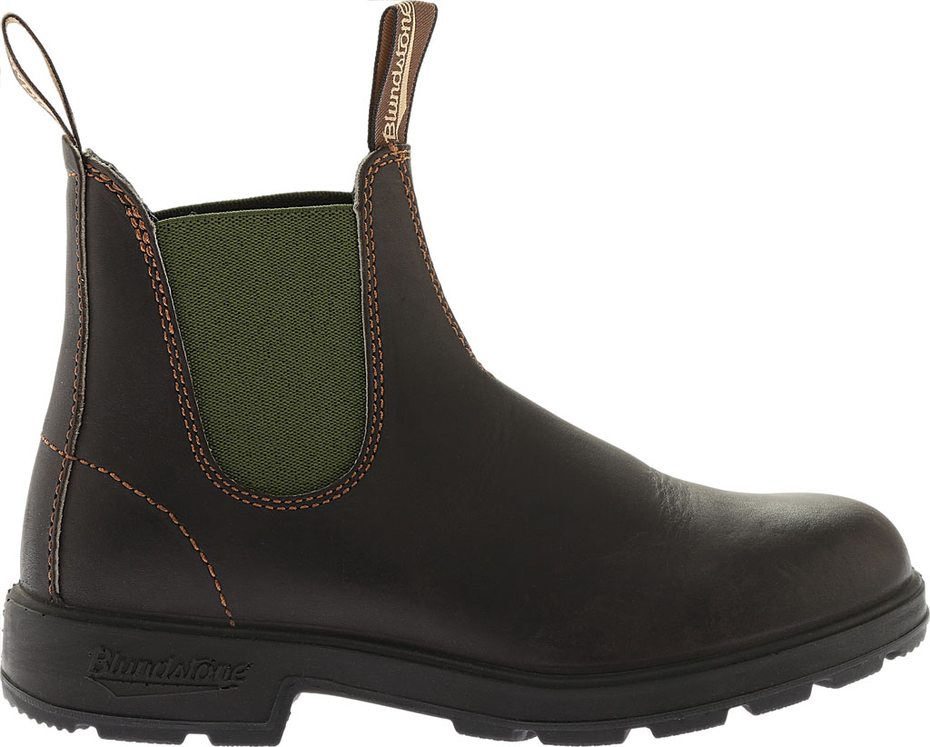 Blundstone Original 500 Series Boot, Stout Brown/Olive Gore, large, image 2