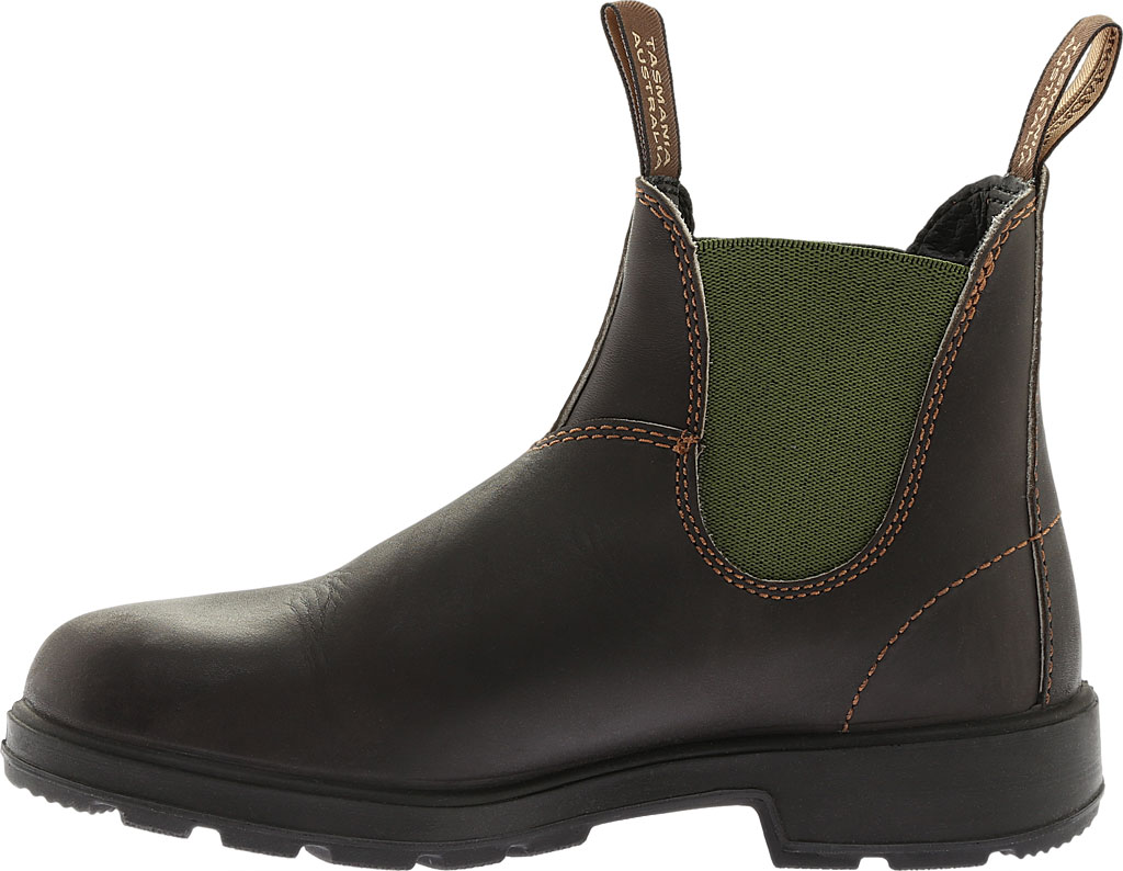 Blundstone Original 500 Series Boot, Stout Brown/Olive Gore, large, image 3