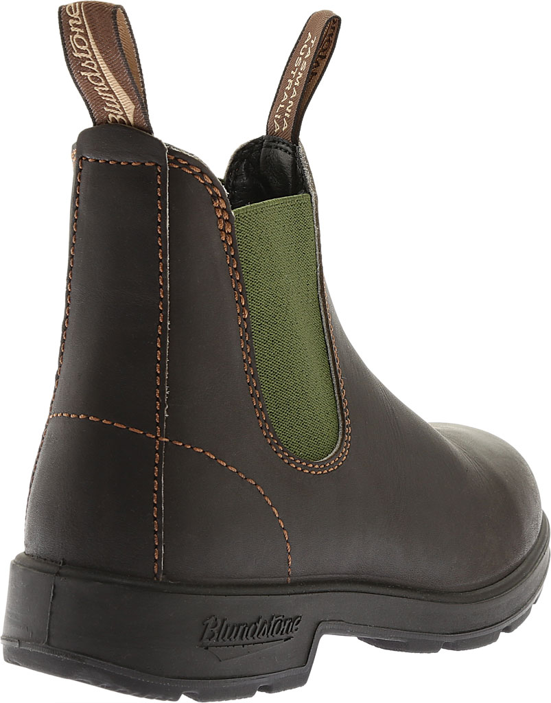 Blundstone Original 500 Series Boot, Stout Brown/Olive Gore, large, image 4