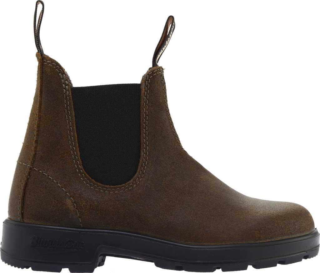 Blundstone Original 500 Series Boot, Dark Olive Suede, large, image 2