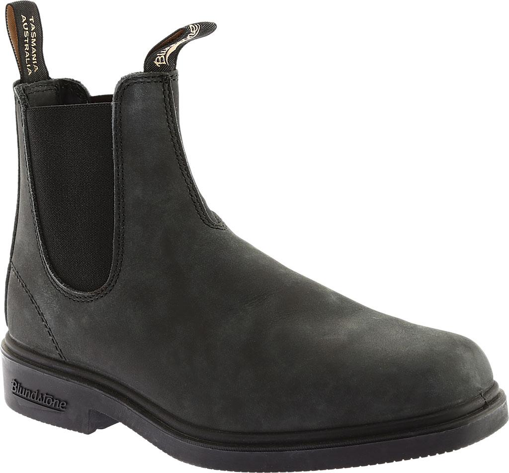 Blundstone Dress Series Boot, Rustic Black, large, image 1