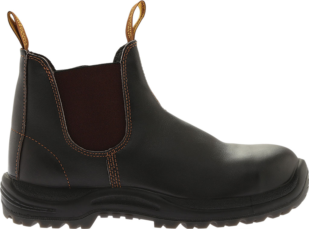 Blundstone Steel Toe Cap Work Boot 172, Brown Leather, large, image 2