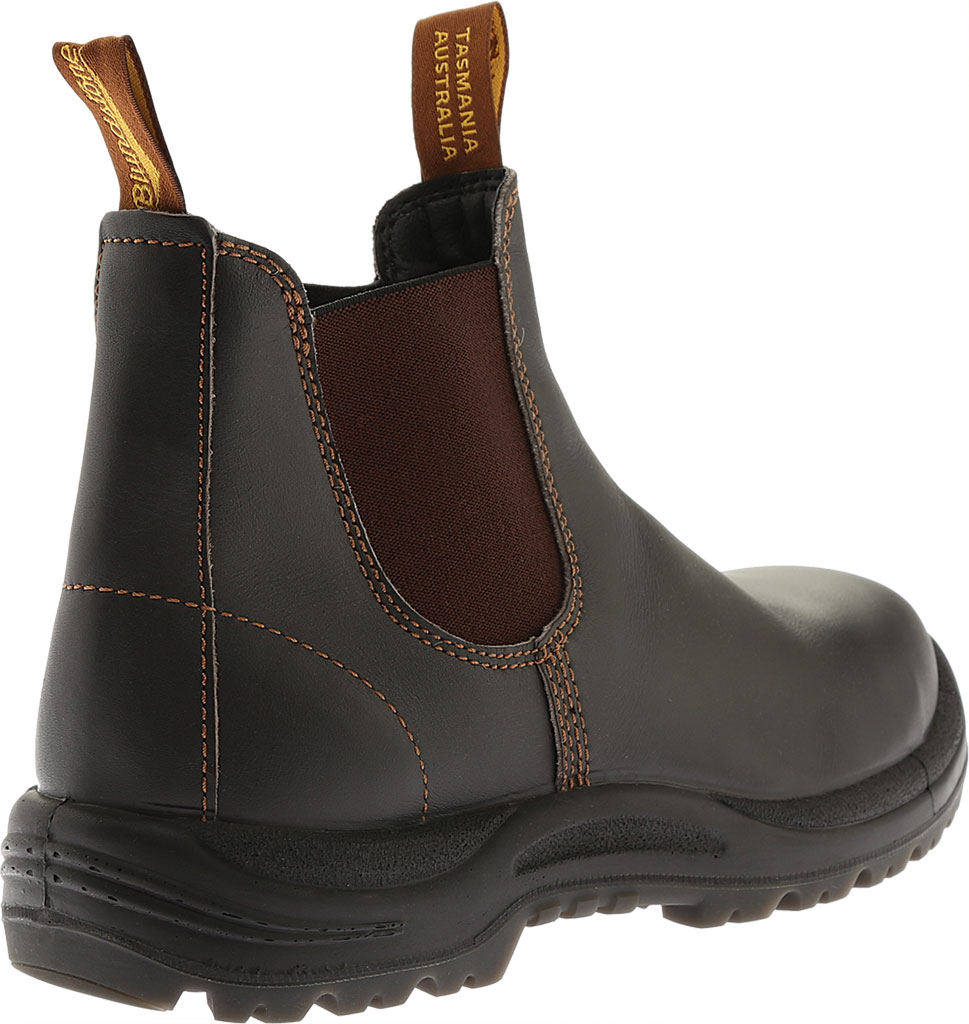 Blundstone Steel Toe Cap Work Boot 172, Brown Leather, large, image 3