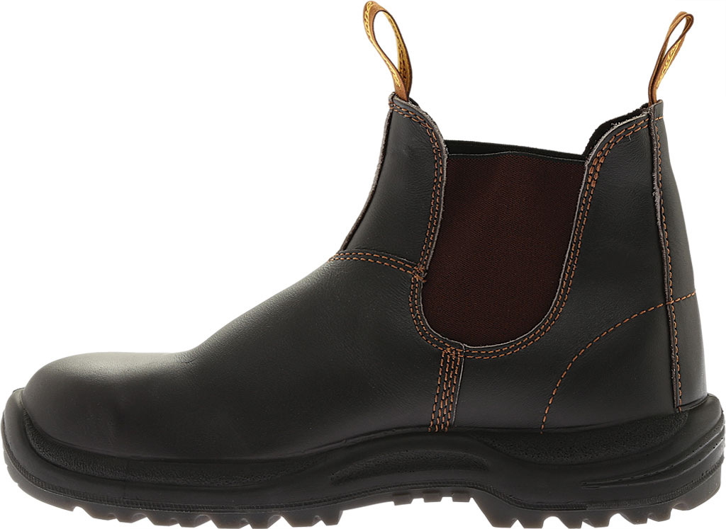 Blundstone Steel Toe Cap Work Boot 172, Brown Leather, large, image 4