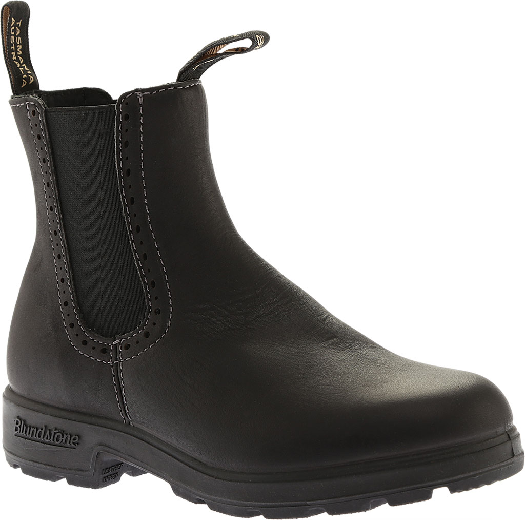 Women's Blundstone Original Series Boot, Voltan Black Leather, large, image 1