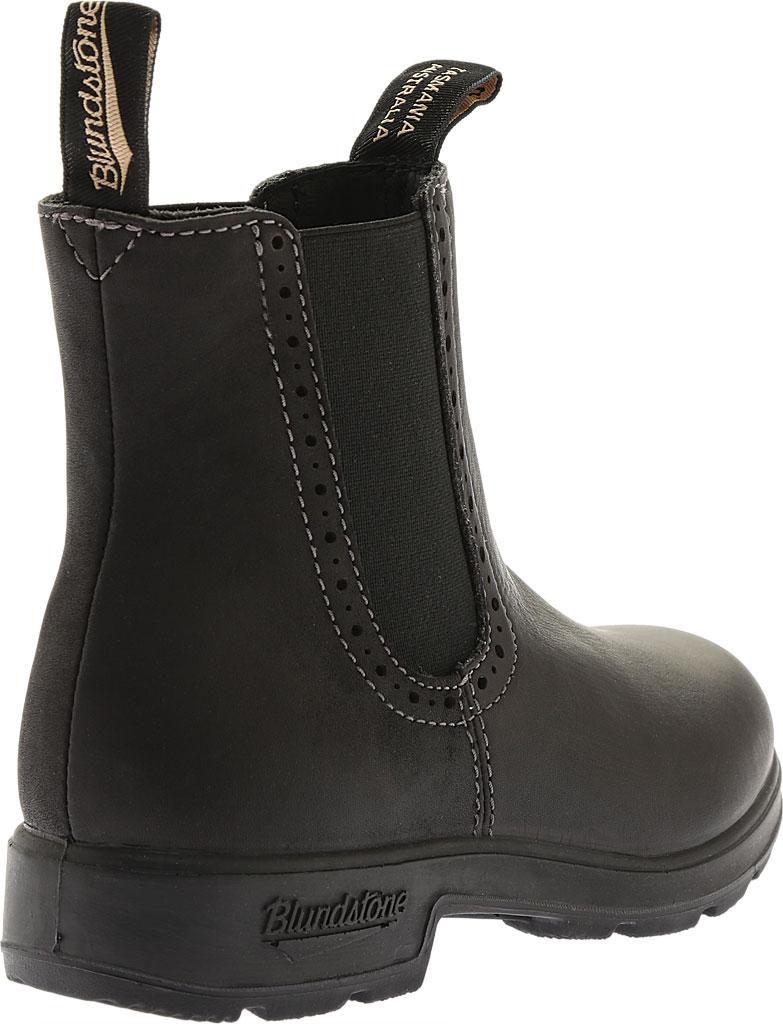 Women's Blundstone Original Series Boot, Voltan Black Leather, large, image 4