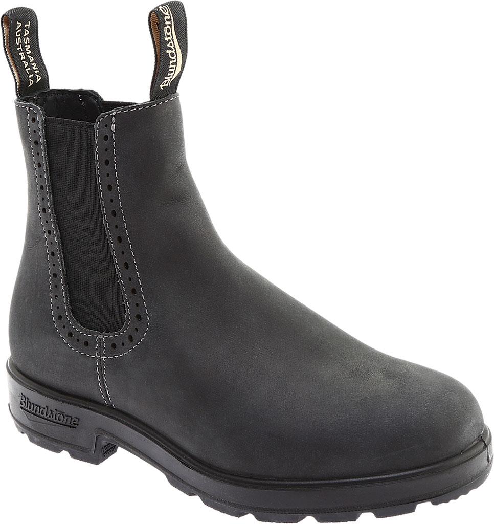 Women's Blundstone Original Series Boot, Rustic Black Leather, large, image 1