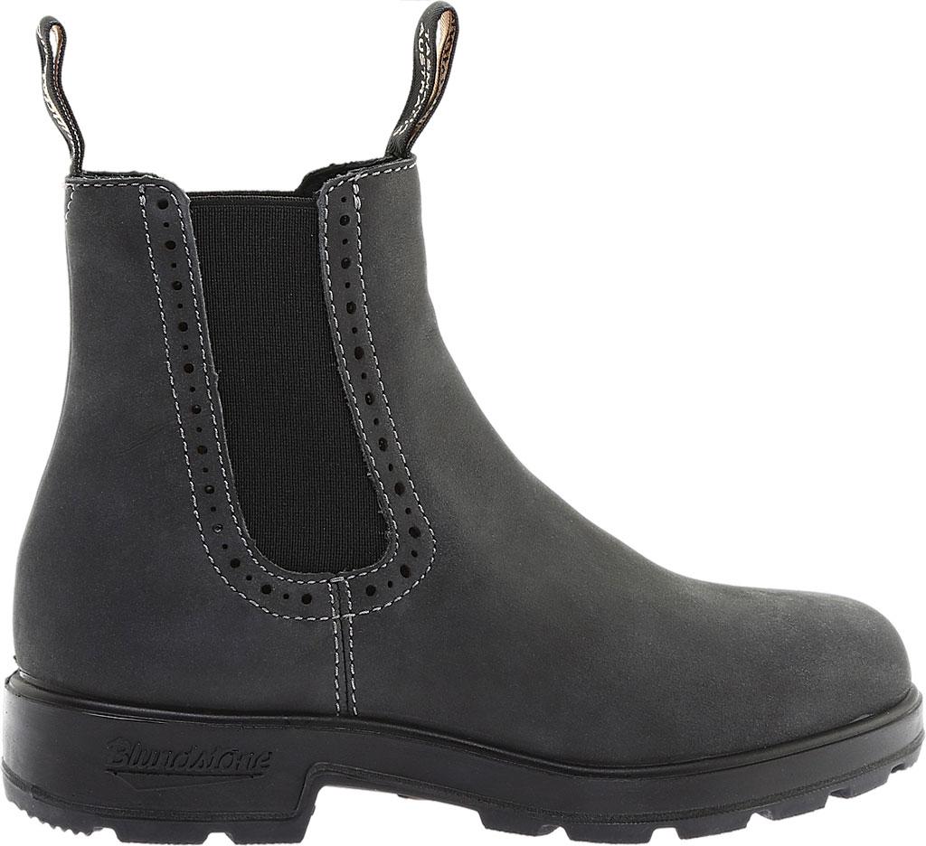 Women's Blundstone Original Series Boot, Rustic Black Leather, large, image 2
