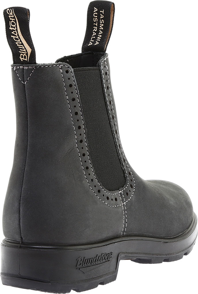 Women's Blundstone Original Series Boot, Rustic Black Leather, large, image 4