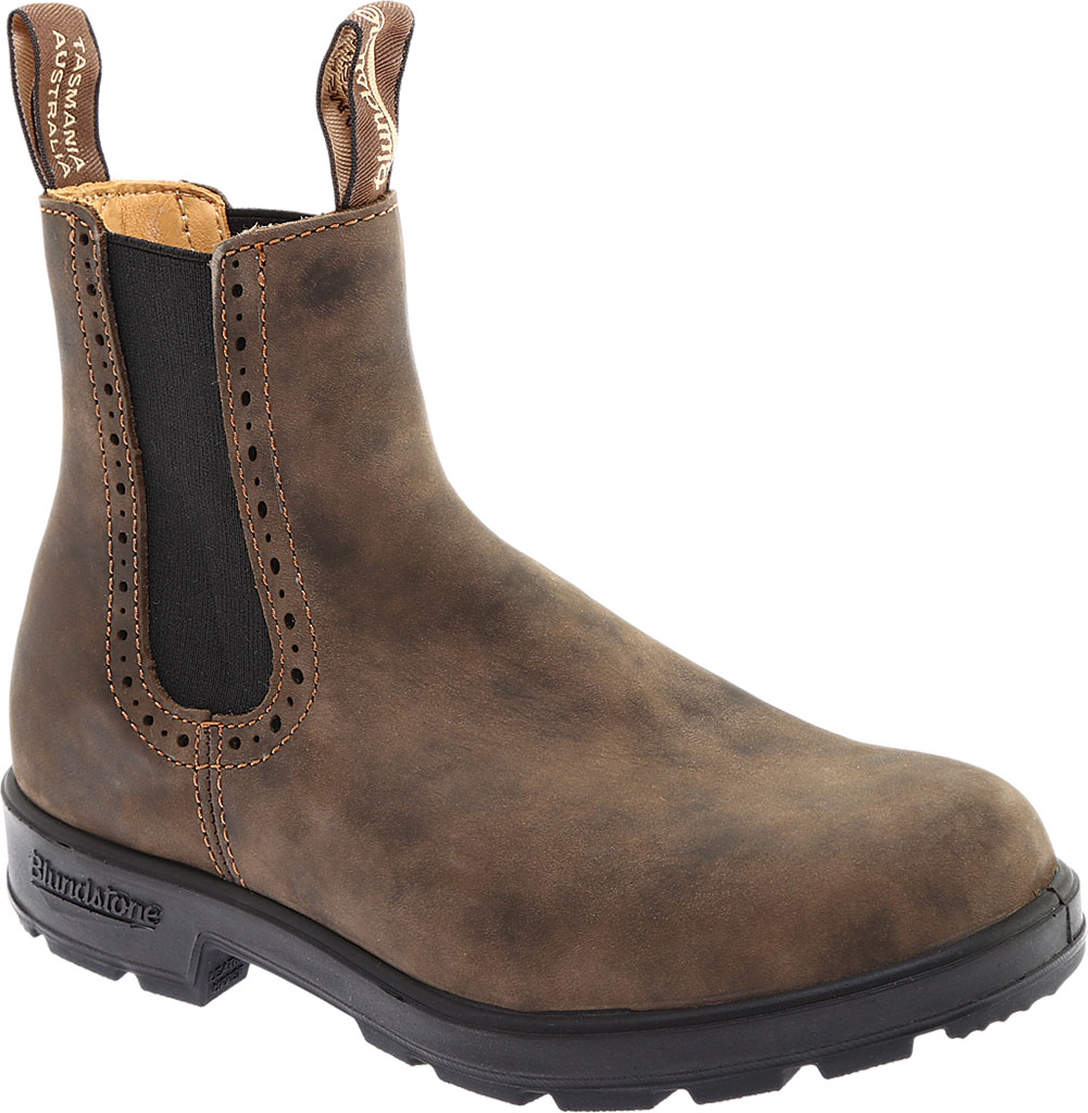 Women's Blundstone Original Series Boot, Rustic Brown Leather, large, image 1