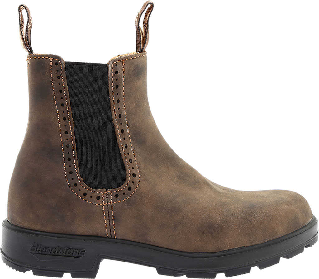 Women's Blundstone Original Series Boot, Rustic Brown Leather, large, image 2