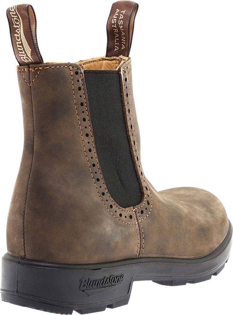 Women's Blundstone Original Series Boot, Rustic Brown Leather, large, image 4