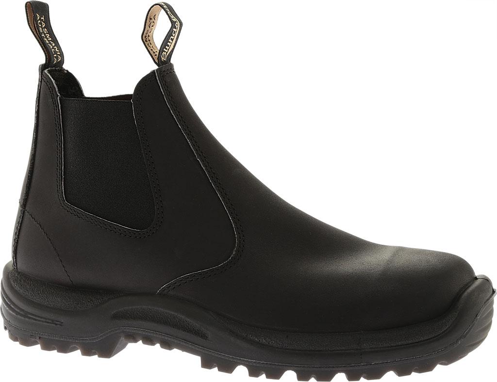 Blundstone Work Series Slip On Boot, Black, large, image 1