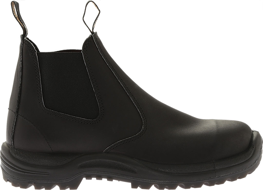 Blundstone Work Series Slip On Boot, Black, large, image 2