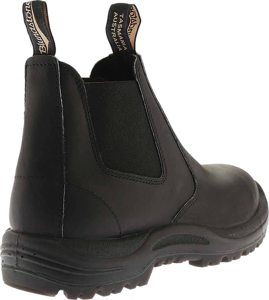 Blundstone Work Series Slip On Boot, Black, large, image 3