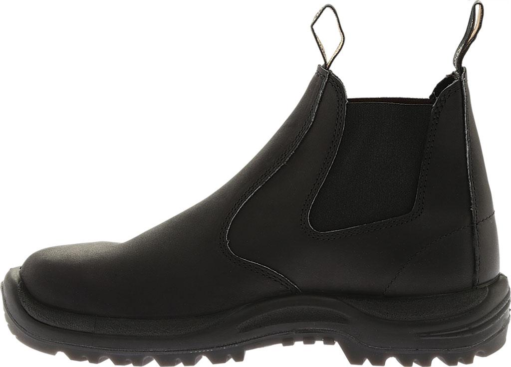 Blundstone Work Series Slip On Boot, Black, large, image 4