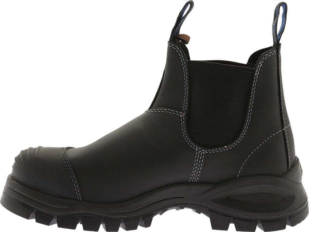 Men's Blundstone Xfoot Rubber Range Slip On Boot, Black Leather, large, image 4