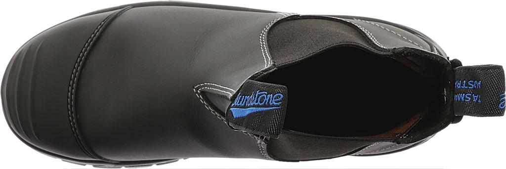 Men's Blundstone Xfoot Rubber Range Slip On Boot, Black Leather, large, image 5