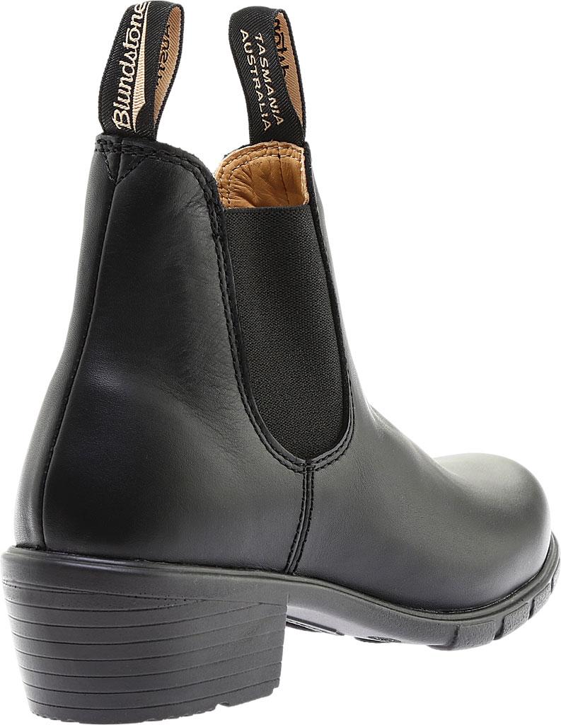 Women's Blundstone Heel Series Boot, Black Leather, large, image 3