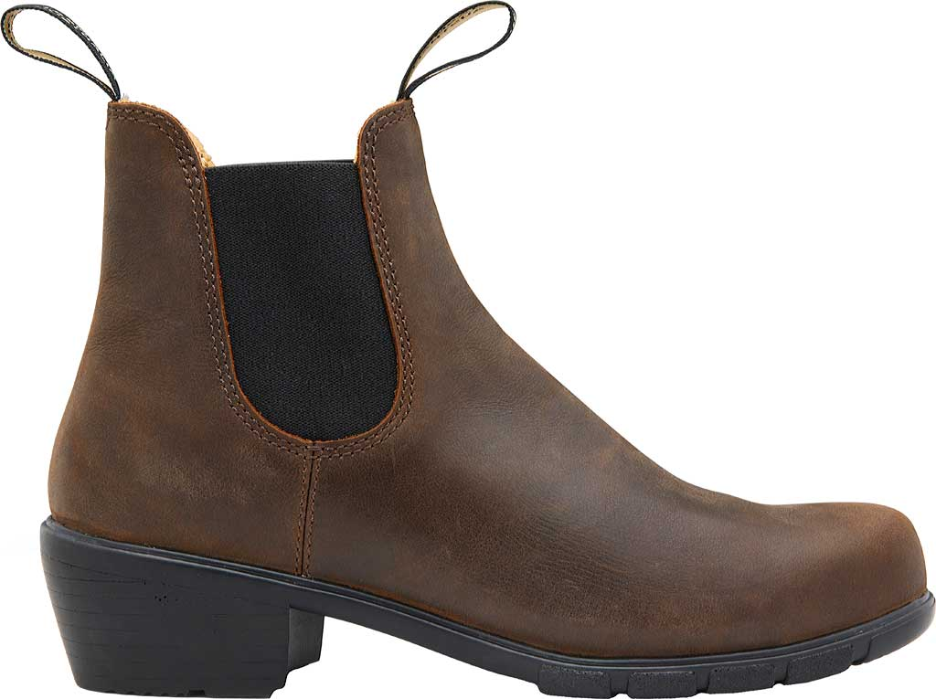 Women's Blundstone Heel Series Boot, Antique Brown Leather, large, image 2
