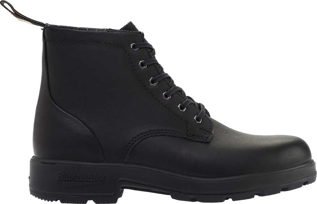 Blundstone Lace Up Original Series Motorcycle Boot, Black Leather, large, image 2
