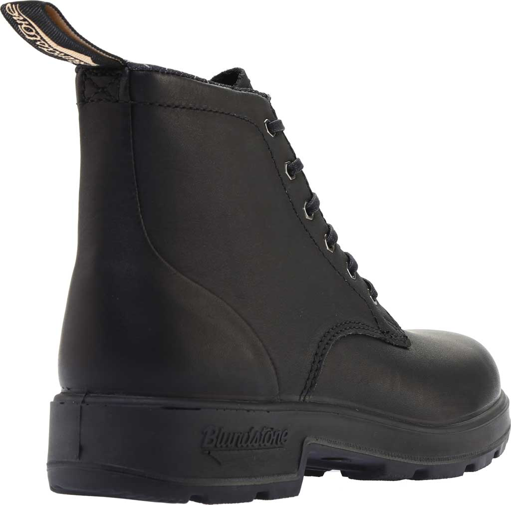 Blundstone Lace Up Original Series Motorcycle Boot, Black Leather, large, image 4