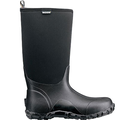 Men's Bogs Classic High Insulated Boot, Black, large, image 2