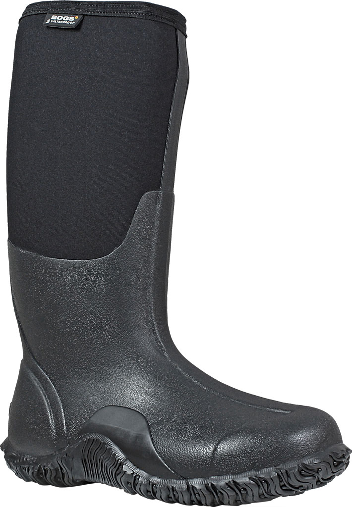 Women's Bogs Classic High, Black, large, image 1