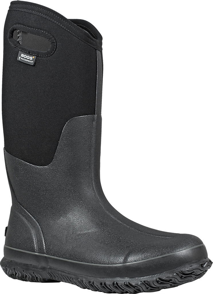 Women's Bogs Classic High with Handles, Black, large, image 1