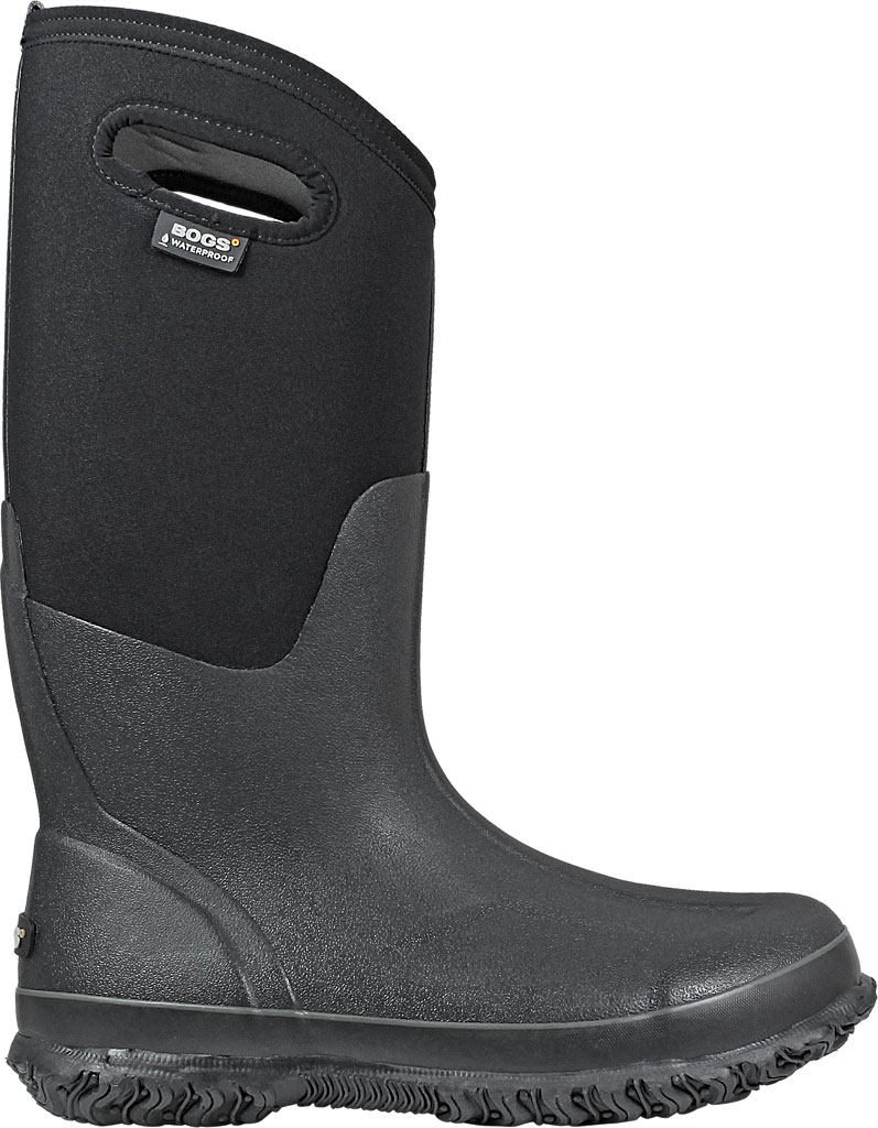 Women's Bogs Classic High with Handles, Black, large, image 2