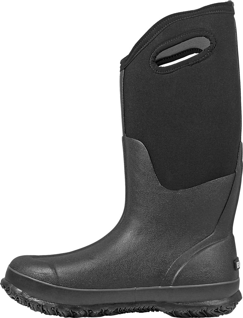 Women's Bogs Classic High with Handles, Black, large, image 3