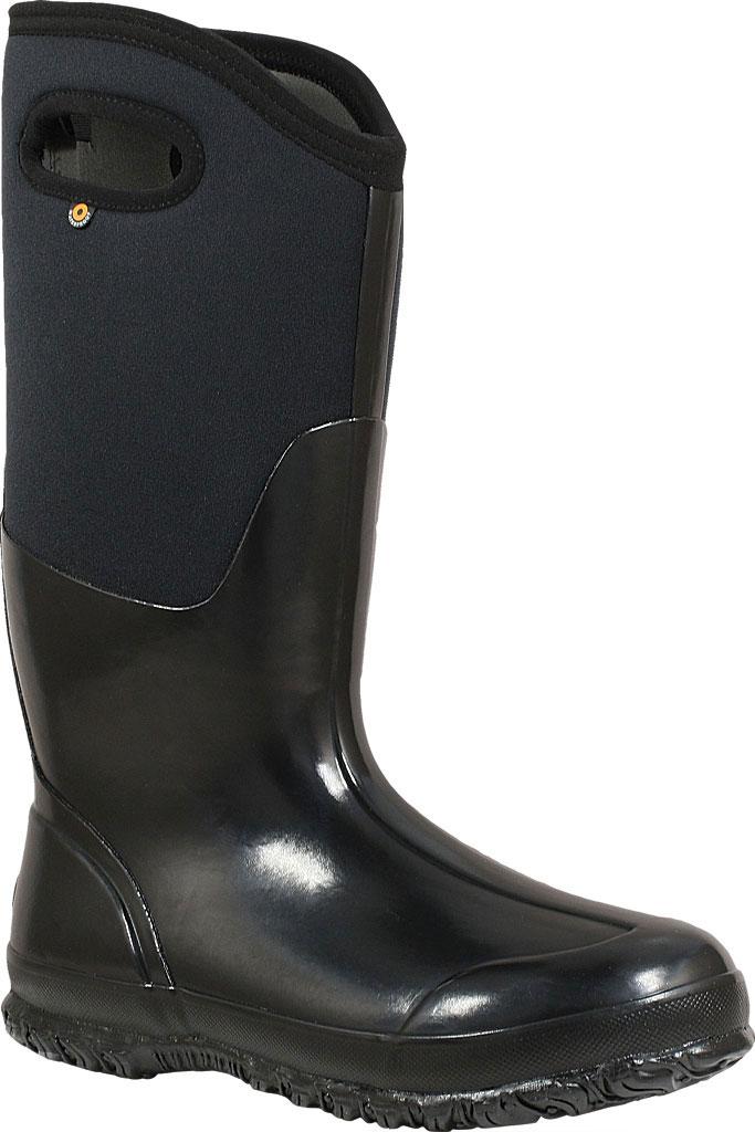 Women's Bogs Classic High Handles, Black Shiny, large, image 1
