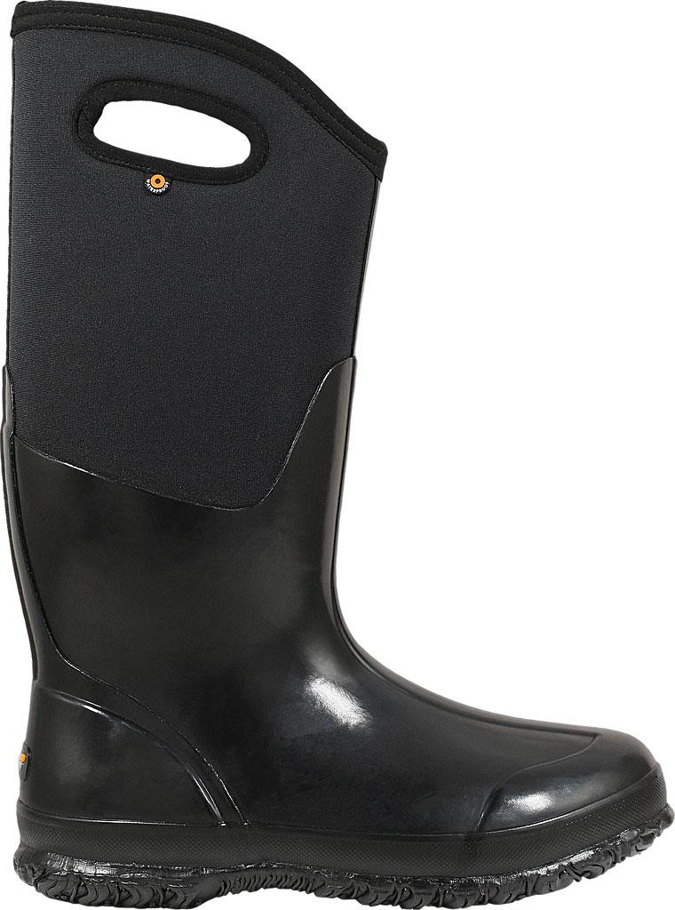 Women's Bogs Classic High Handles, Black Shiny, large, image 2