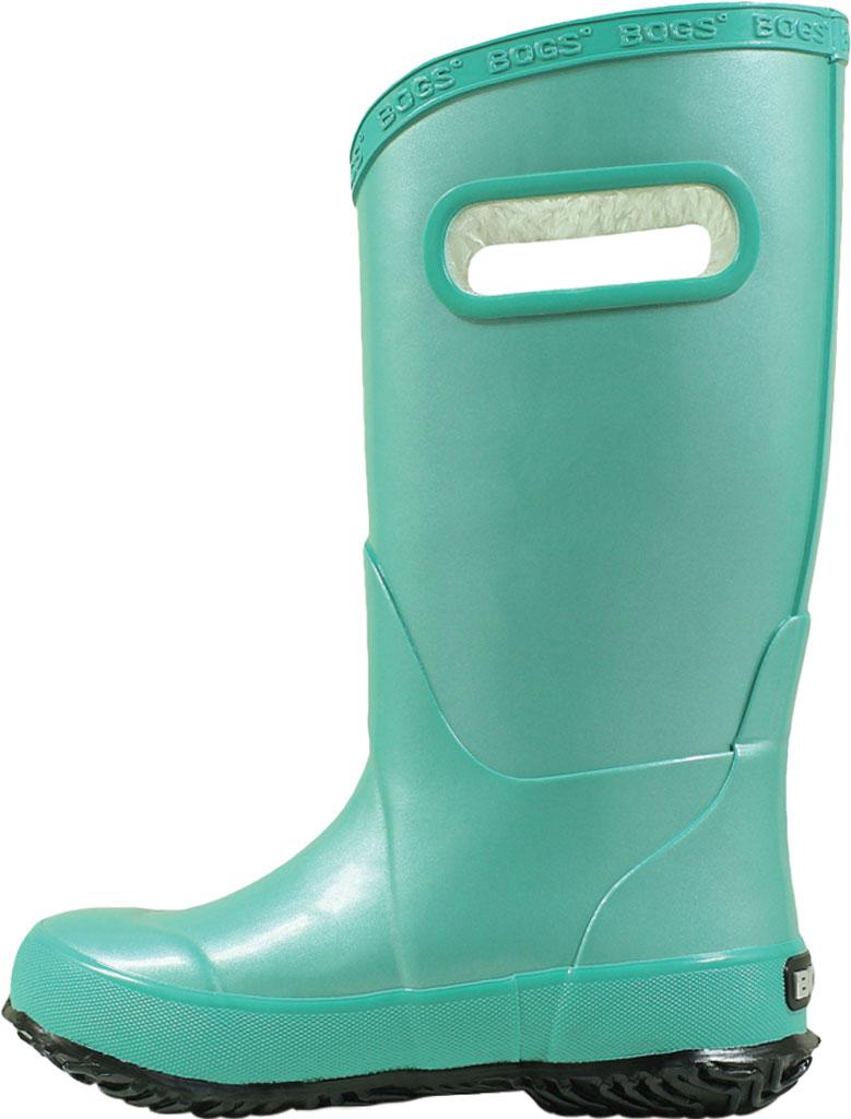Children's Bogs Rain Boot, Navy/Green, large, image 3