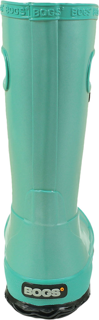 Children's Bogs Rain Boot, Navy/Green, large, image 4