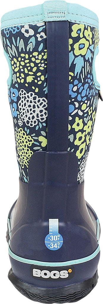 Children's Bogs Classic, Blue Multi Big NW Garden Rubber/Nylon Jersey, large, image 4