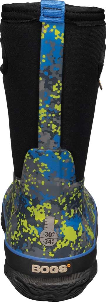 Children's Bogs Classic, Blue Micro Camo Rubber/Nylon, large, image 4
