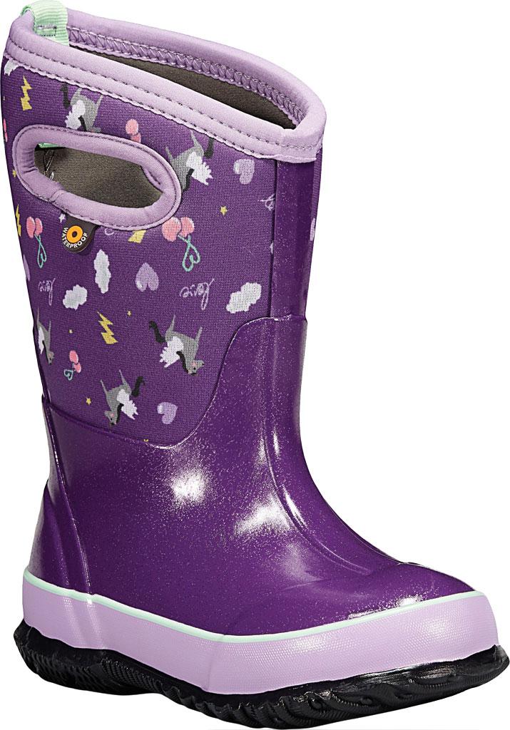 Children's Bogs Classic, Purple Pegasus Multi Rubber/Nylon, large, image 1