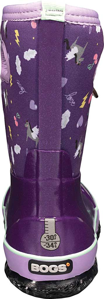Children's Bogs Classic, Purple Pegasus Multi Rubber/Nylon, large, image 4
