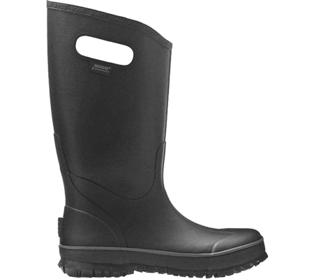 Men's Bogs Rain Boot, Black, large, image 2