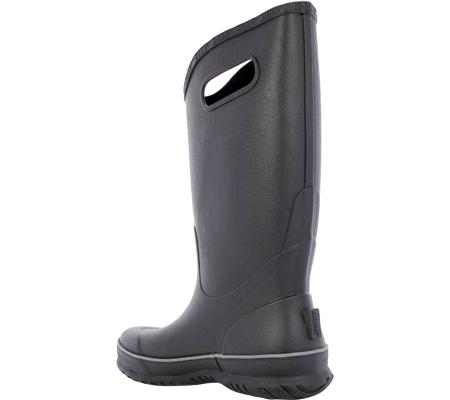 Men's Bogs Rain Boot, Black, large, image 3