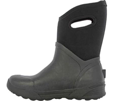 Men's Bogs Bozeman Mid Boot, Black Rubber, large, image 3