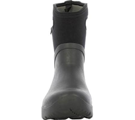 Men's Bogs Bozeman Mid Boot, Black Rubber, large, image 4