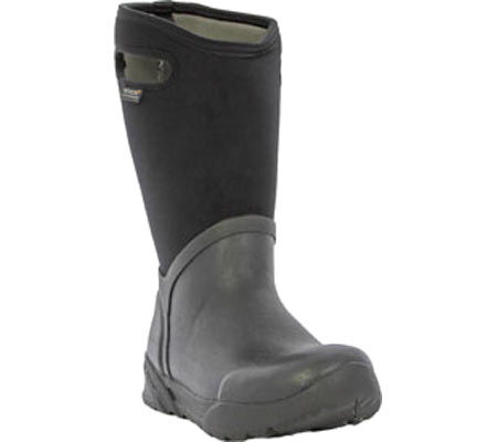 Men's Bogs Bozeman Tall Boot, Black Rubber, large, image 1